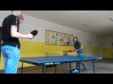 Моя игра в Пинг-понг 14 февраля