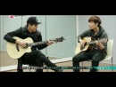 140123 ChanYeol plays guitar & Lay sings and Luhan's long note @ EXO's ShowTime Ep 9.